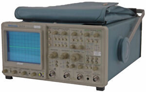 Tektronix 2445a 4 channel Dc 150mhz Variable Portable Analog Oscilloscope opt 9