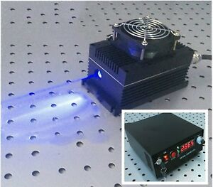 445nm 450nm 5w 5000mw Blue Laser Dot Module ttl analog Tec Adjustable Power
