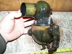 Old Schebler Dx319 Hart Parr 12 24 Tractor Brass Carburetor Hit Miss Engine Nice