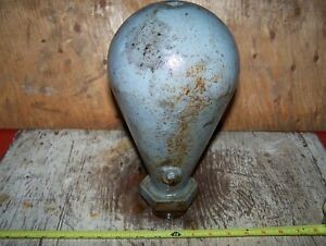 Old Cast Iron Rider Ericsson Pressure Dome Hot Air Engine Hit Miss Gas Steam Wow