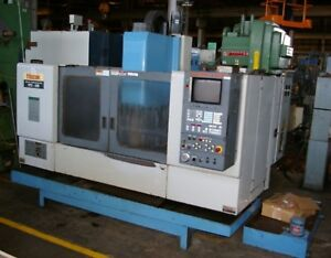 Mazak Vtc 20b Cnc Vert Machining Center W 57 48 X 20 Table M Plus Control