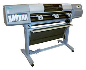 Hp Designjet 5500 Uv Printer 60 Inch Wide Plotter Plus