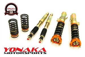 Yonaka 28 Level Adjustable Performance Coilovers 14 15 Civic Si Sedan Coupe 2dr