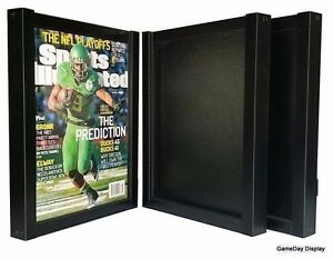 Lot Of 3 Sports Illustrated Display Case Frame Issues July 1994 To Current