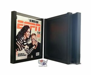 Lot Of 3 Espn Magazine Display Case Frame Uv Protecting By Gameday Display