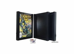 Lot Of 3 Comic Book Display Case Frame Current Sized Comics By Gameday Display
