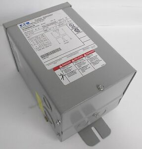 Cutler Hammer S10n06a01n Dry Type Distribution Transformer Single Phase