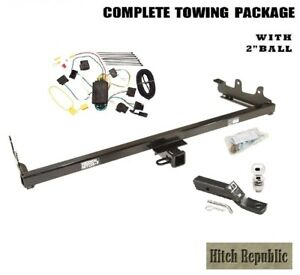 Fits 2004 2007 Ford Freestar Monterey Class 3 Trailer Hitch Package W