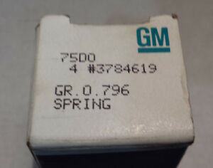 Nos Anti Rattle Spring 1955 1956 1957 1958 1959 1960 1961 1962 1963 Corvette