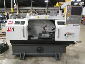 Haas Model Tl 1 Combination Manual cnc Toolroom Lathe With Haas Control