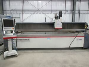Mitsubishi Model Mwx4 612 Cnc Water Jet Cutting System 6 X 12