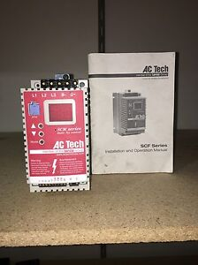 Ac Tech Variable Speed Ac Motor Drive 1 00 Hp Sm410