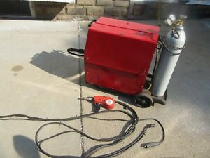 Snap On Dip Pak 250 Ebac Spool Gun Mig Welder Aluminum Welder No Tank