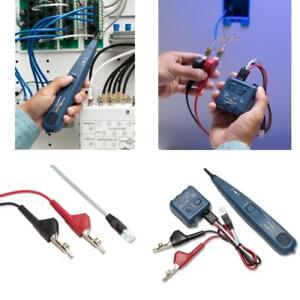 Professional Tone Generator probe Kit Networks Wire Tester Cable Circuit Tracker