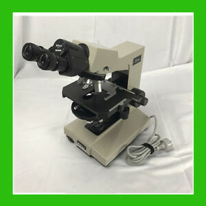 Nikon Labophot Biological Microscope With 4 Objectives 2 Eyepieces Pn 224163
