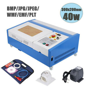 Ridgeyard 40w Co2 Laser Engraving Cutting Machine 12x8 Engraver Cutter Usb