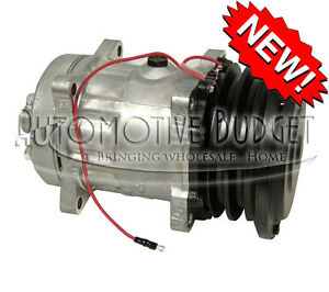 A c Compressor W clutch For Sanden 4617 5733 New