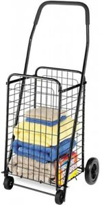Laundry Grocery Shopping Storage Organizer Rolling Steel Utility Cart With Wheel