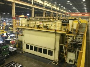 Komatsu 600 Ton Servo Drive Press With Transfer
