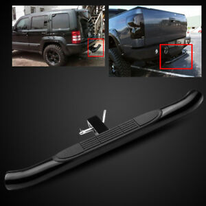 Universal 2 Receiver 37 3 Tube Black Trailer Tow Hitch Step Bar bumper Guard