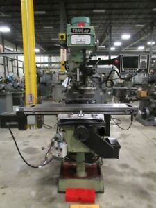 Southwestern Industries Mo K3 Vertical Cnc Mill W Prototrak Age 2 2 axis