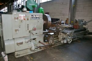 Leblond 41 68 X 108 180 Heavy Duty Sliding Bed Gap Lathe W trak 2 axis D r o