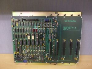 Elox Corporation 13365 9 Pcb Rev B 13366 0 Cpu Master Control 15293