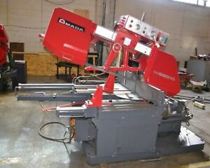 Amada H 650hd 25 X 16 Heavy Duty Horizontal Band Saw W swivel Base New 1986