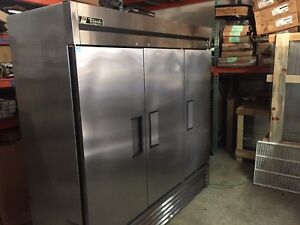 True T 72f 3 Door Freezer Used Commercial