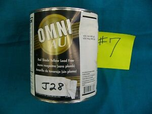 Ppg Paint Tint Omni Au M153 Shop Line J28 Red Shade Yellow Mixing Base 1qt 7