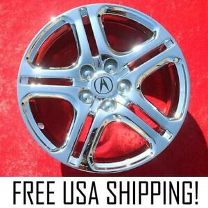 Set Of 4 Chrome 18 Acura Rl A Spec Oem Factory Wheels Rims Tl Sh Awd 71747