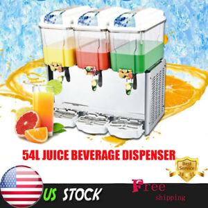 18l Commercial Juice Beverage Cold Refrigerated Drink Dispenser Machine Th