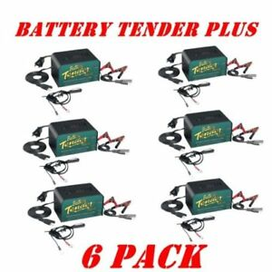 Battery Tender Plus 12v For Motorcycle Car Truck Battery Maintainer Charger 6 Pk