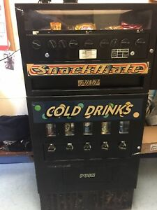 Vending Machine Refrigerated Drink Snack Combo