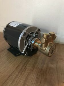 Procon Pump Includes Marathon Motor Brass Procon Pump Dual Voltage Motor