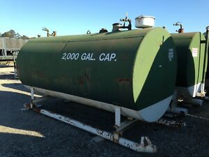 Bulk Storage Fuel Tank 2000 Gallon