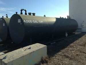 Bulk Storage Fuel Tank 4000 Gallon