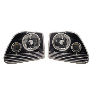 Apc Head Light Assembly 1997 2002 Ford Expedition With Projector Fog Lamps