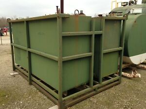 Bulk Storage Fuel Tank Approx 1800 2000 Gallon