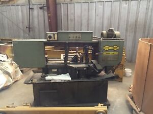 Hyd mech S 20 13 Horizontal Band Saw