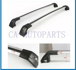 High Quality Roof Bar Rack For Mitsubishi Outlander 2013 2017 Silver Color