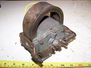 Old Webster K Hit Miss Gas Engine Magneto Ignitor Oiler Steam Tractor Mag Hot