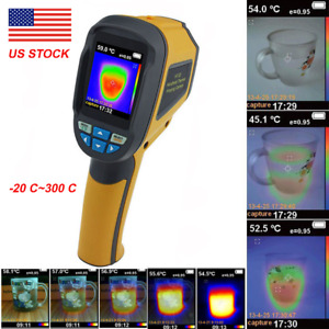 Handheld Thermal Imaging Camera Infrared Thermometer Imager Gun 20we