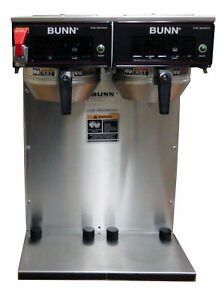 Bunn Cwtf Twin Aps Dual Airpot Commercial Coffee Brewer Shipping Available In Us