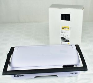 Fellowes Star 150 Manual Comb Binding Machine Excellent Condition 100 3 4