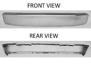 Replacement Bumper Face Bar For F 150 F 250 F 350 Bronco Front Fo1002238v