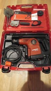 Pre owned Hilti Te 16 C Rotary Hammer Drill With Extras