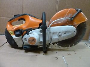 Stihl Ts410 Gas Powered Concrete Cut off 14 With Water System