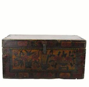 Hand Painted Gansu Trunk 1