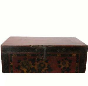 Hand Painted Gansu Trunk 2